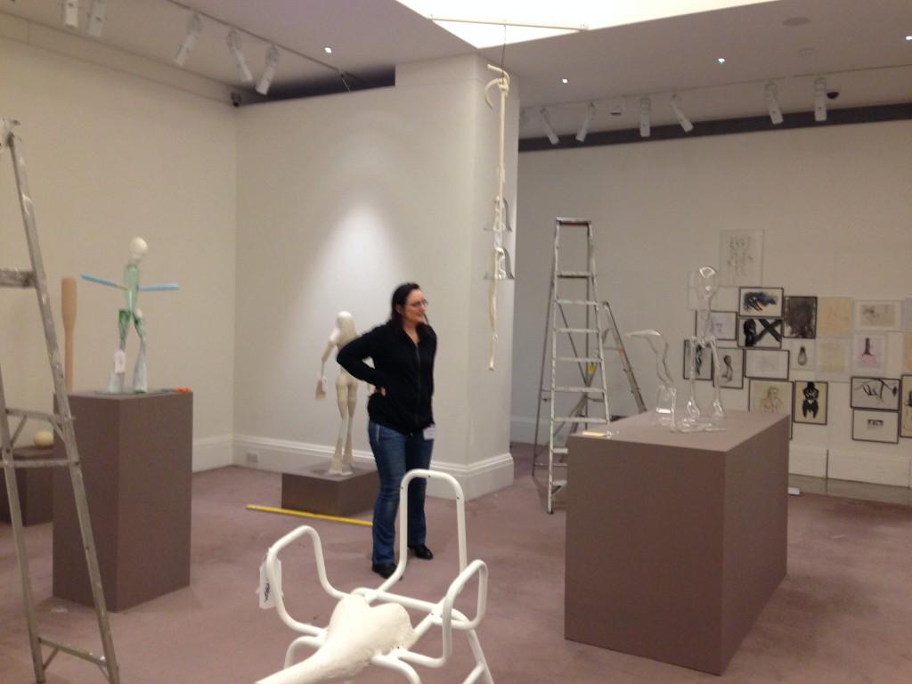 Emma installing 2