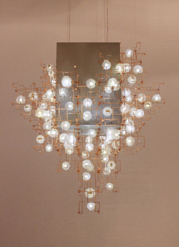 Studio Drift Fragile Future 3 Concrete Chandelier courtesy CWG