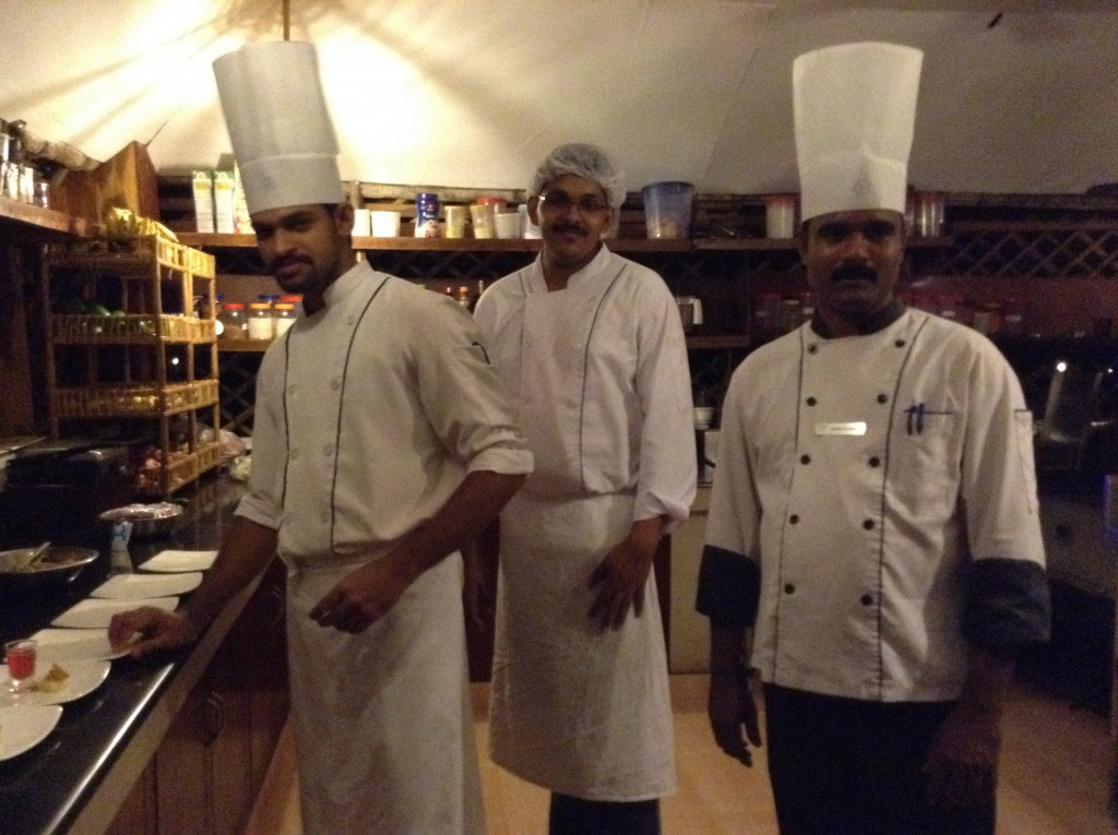 The chefs will prepare it any way to order and 'Kerala style is delicious