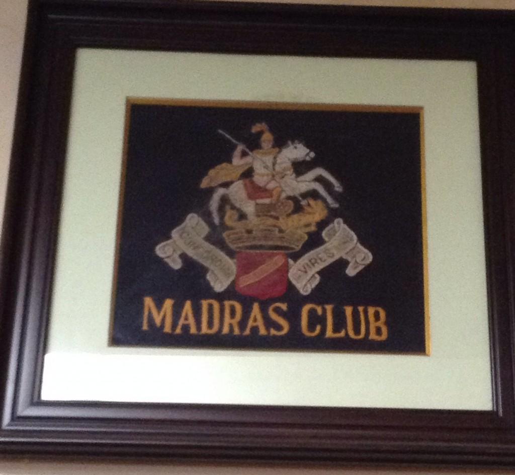 madras sign