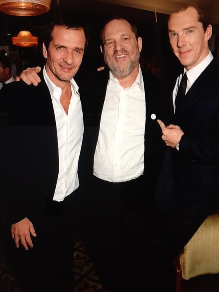 Host Harvey Weinstein at the BAFTA Pre-Award Dinner / Sadly, no award