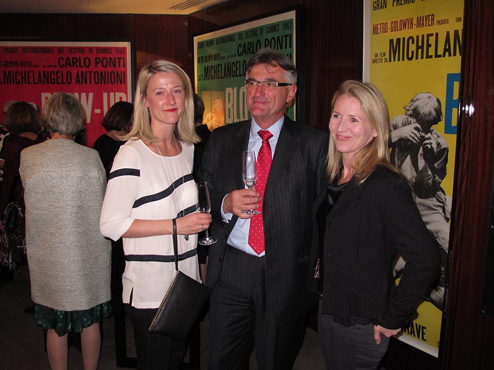 David Blunn, Catherine Dickens and Katrina Lloyd