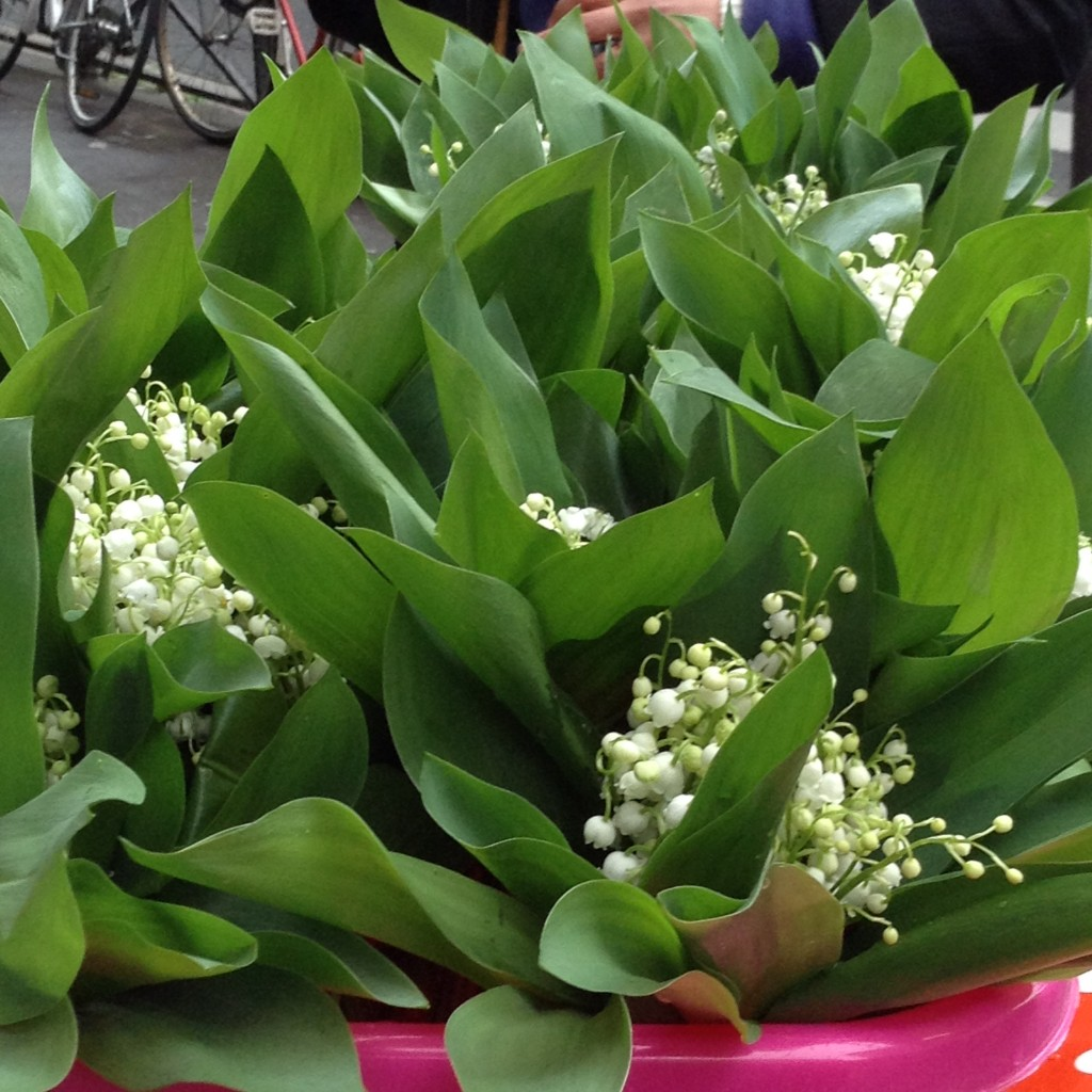 Plus armfuls of lily of the valley (of course) and lilac