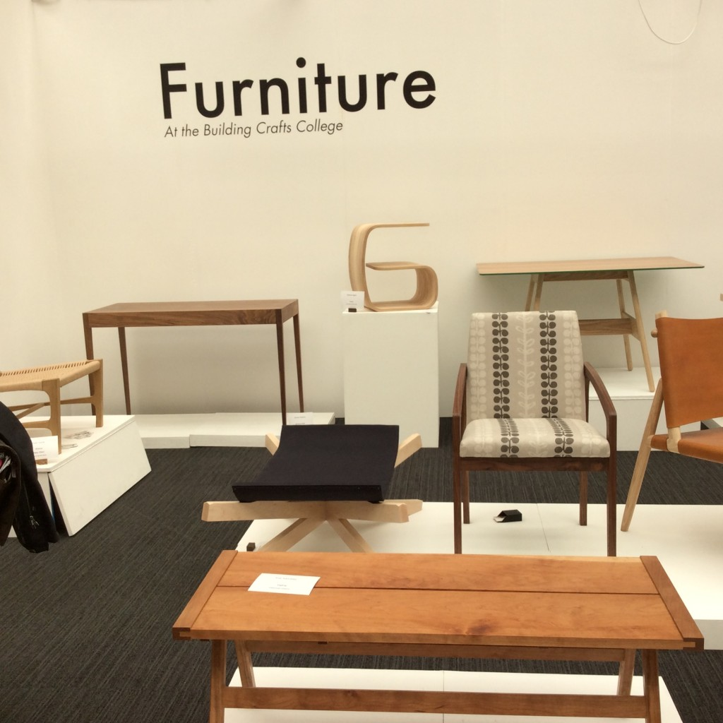 Diversity and craftsmanship were very evident in product design and furniture making