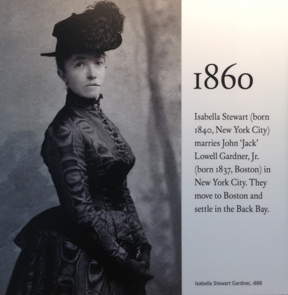 Isabella Stewart Gardner - A woman with great style and passion