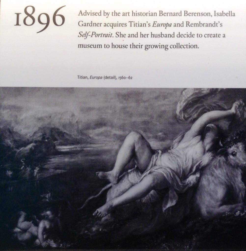 The notorious art historian and dealer, Bernard Berenson, was an advisor