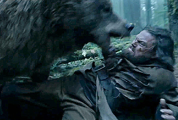 The Revenant - bear attack