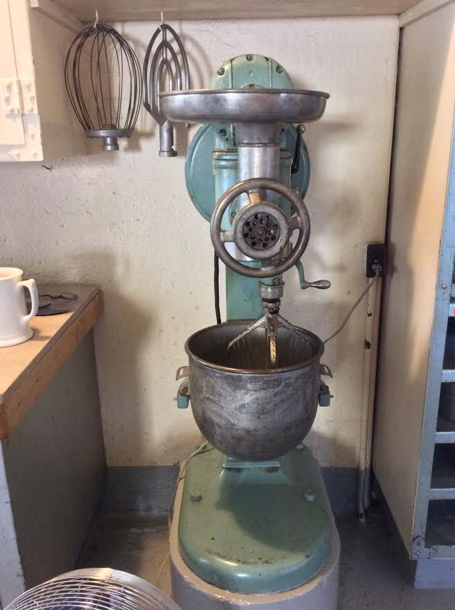 State of the art mixer in its day